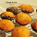Madeleines coques choco/coco