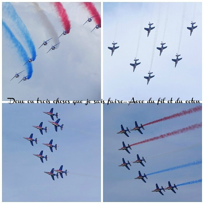 Collage Patrouille de France1