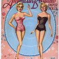 American beauties paper dolls marilyn monroe