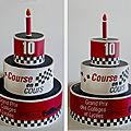 Gâteau d'anniversaire pour l'ssociation