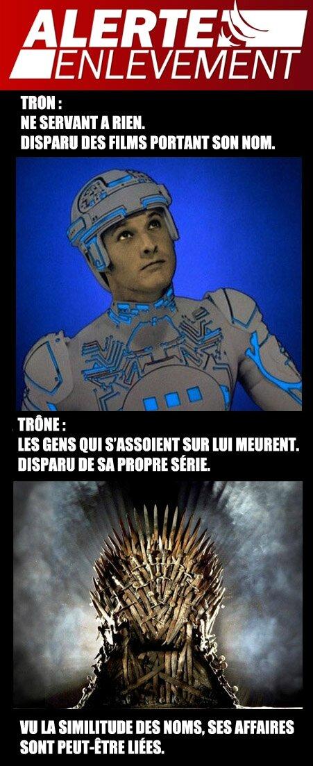 Tron Trône