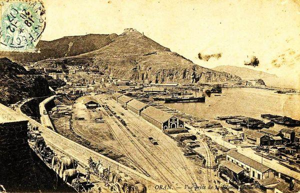 Oran- 108- travail sur les quais