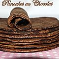 Pancakes au chocolat + Remerciement