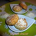 Ghribas aux noix de coco