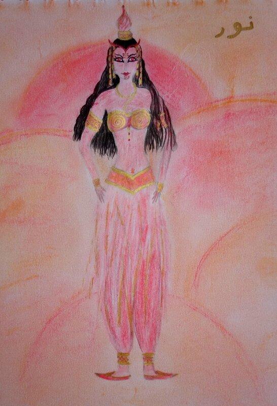 Nour, reine des Djinns