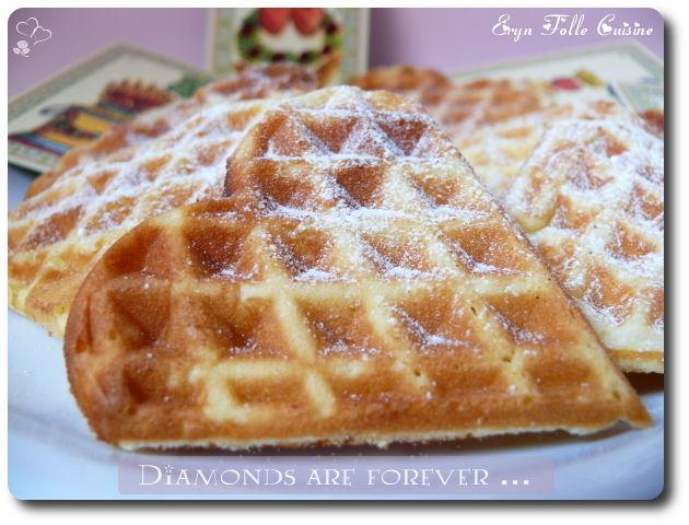 Gaufres quatre quart vanille sans beurre eryn et sa - Recette de gaufre sans beurre ...