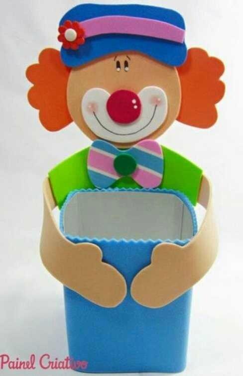 clownpoubelle