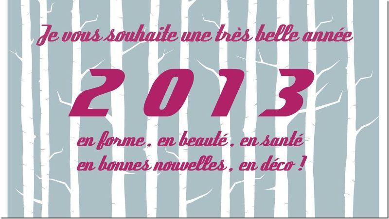 nbonne année 2013