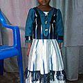 Une tenue en pagne tissé
