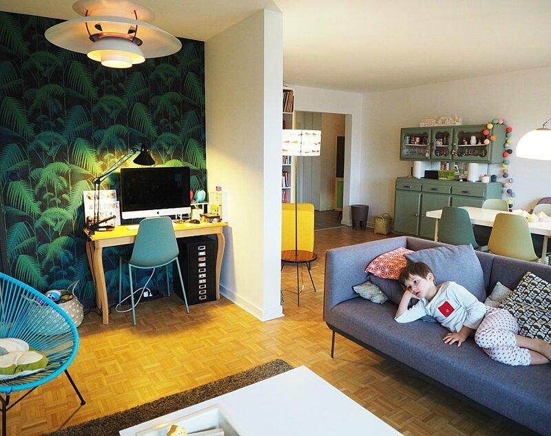 new-home-papier-peint-livres-enfants-salon-biblio-livres-tv-decoration-architecture-interieur-ma-rue-bric-a-brac