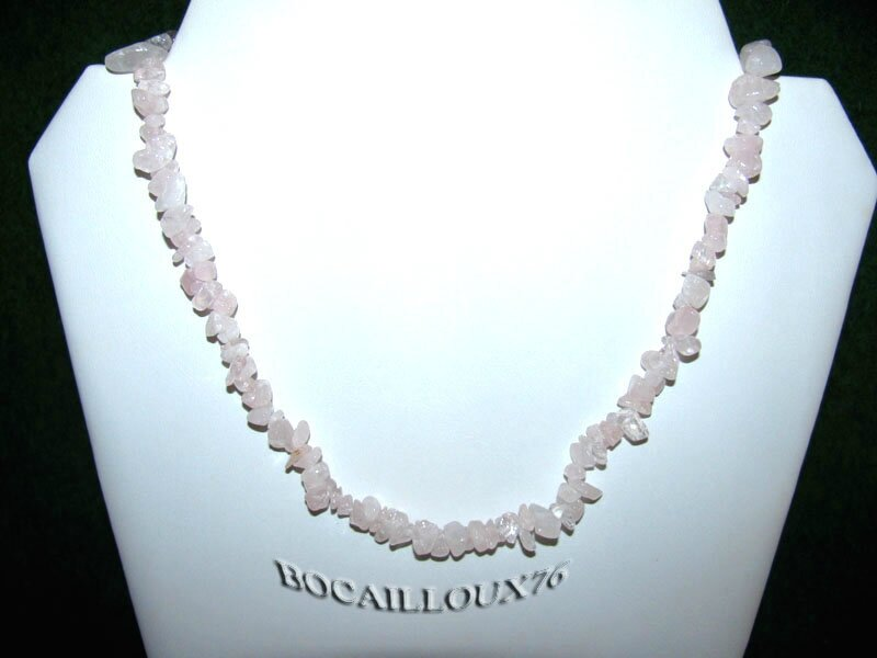 Collier QUARTZ Rose 6 (3)