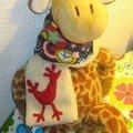L'écharpe de Nino portée par Jojo
