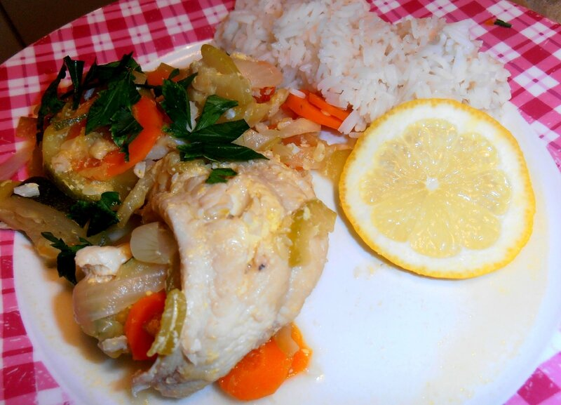Blanquette de poisson aux légumes