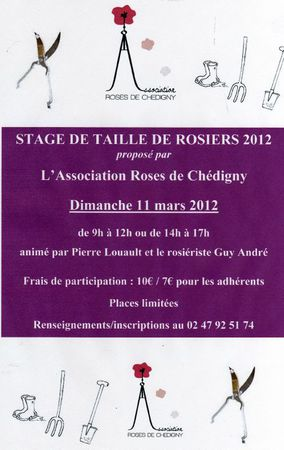 stage taille des rosiers 2012