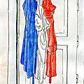 Défi 72 - Bleu Blanc Rouge