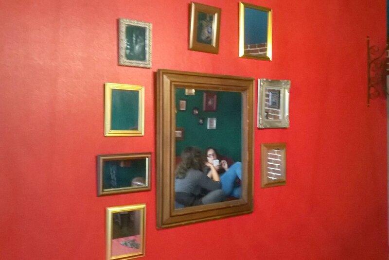 mur de miroirs