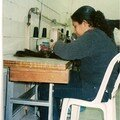 la couture des meches et montage des perruques par notre equipe