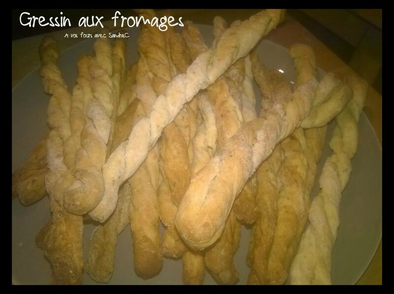 Gressin aux fromages