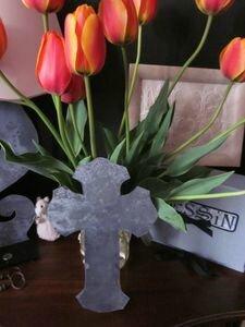 Croix de Salomé en zinc