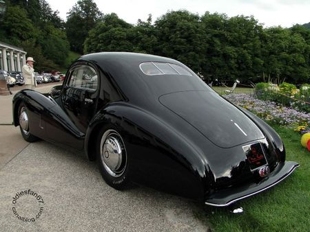 Alfa Romeo 6c 2500 ss bertone 1942 Internationales Oldtimer Meeting Baden Baden 2011 4