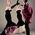 Gowns by Balenciaga, 1950s