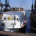 ELLI 2 : Passagers . 21.00 m x 4.50 m x 80 cv . Frontignan - Sète . 2 heures .