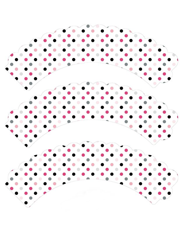 cupcake wrappers petits points