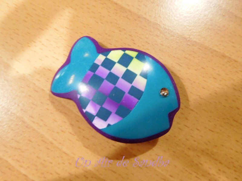 Broche Happy Fish Quadri