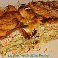 Lasagnes saumon, poireaux hyper-crémeuses au mascarpone