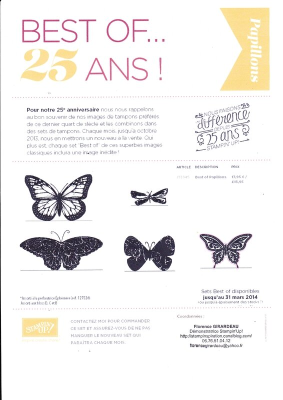 Flo promo best of 25 ans papillons