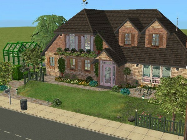 Joli cottage maisons deco sims2 for Decoration cottage maison