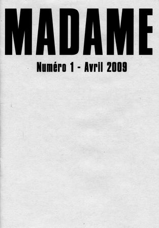 La Couverture de Madame