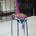 Girafe yarn bombing nantes1