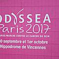 La course contre le cancer du sein odyssea 2017