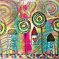 Art journal thème : hundertwasser