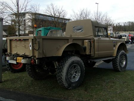 kaiser jeep m715, 1967 1969, salon champenois reims 2013 6