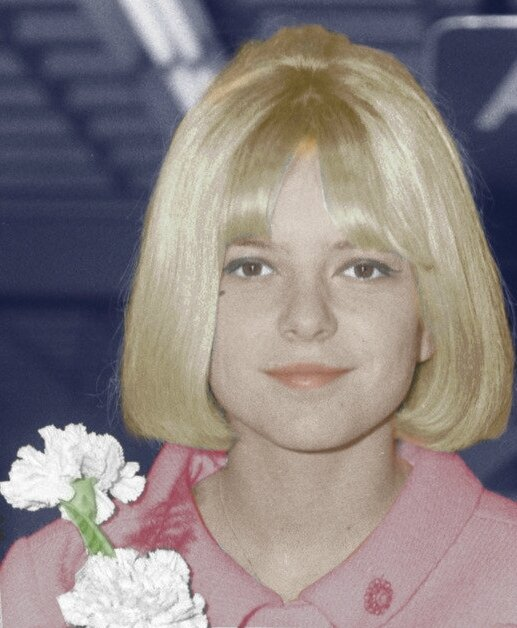 FranceGall-1965-colorise