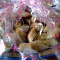 Petits feuilletés amandes et noix... en avance pour le ramadan!