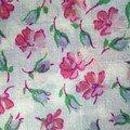 franche rose pâle
