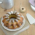 Bundt cake lemon & matcha...ig bas (battle food #17)