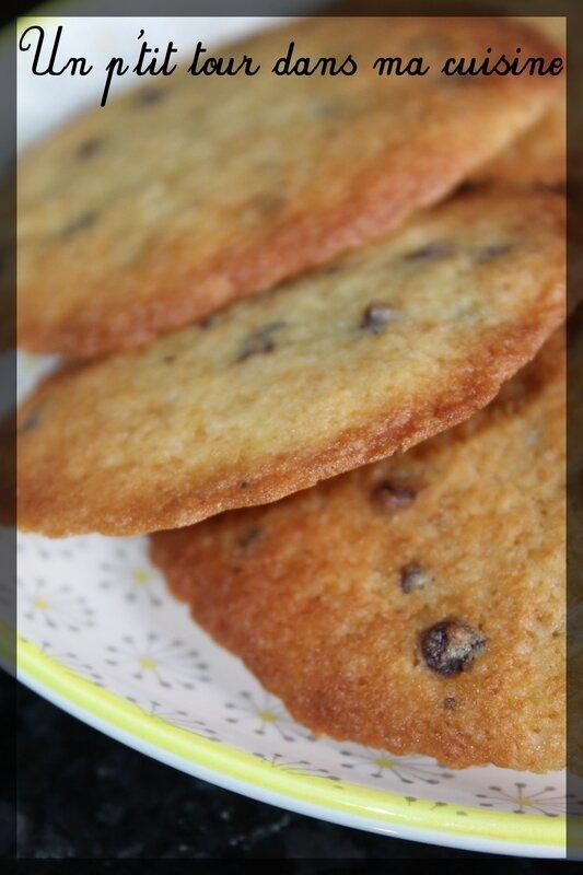 Biscuits fins pépites choco2