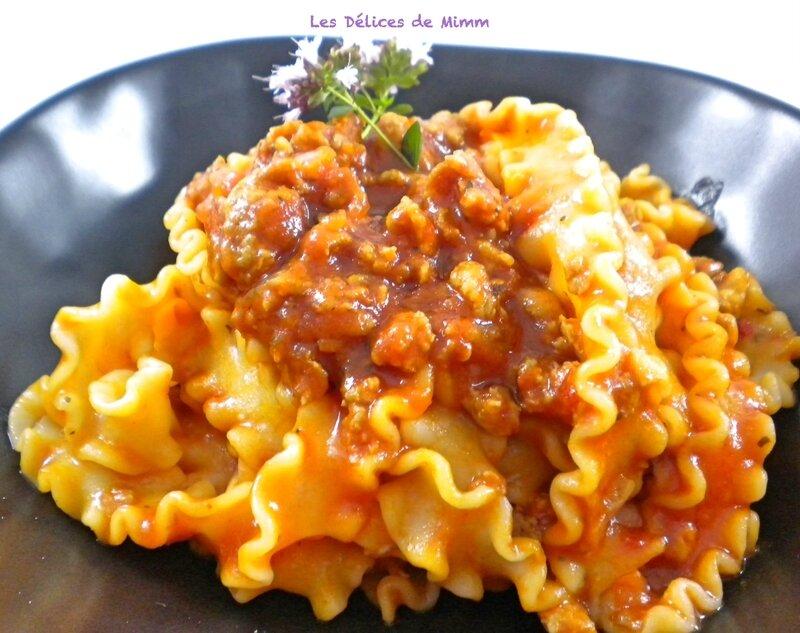 Sauce pour pâtes à la saucisse italienne 5