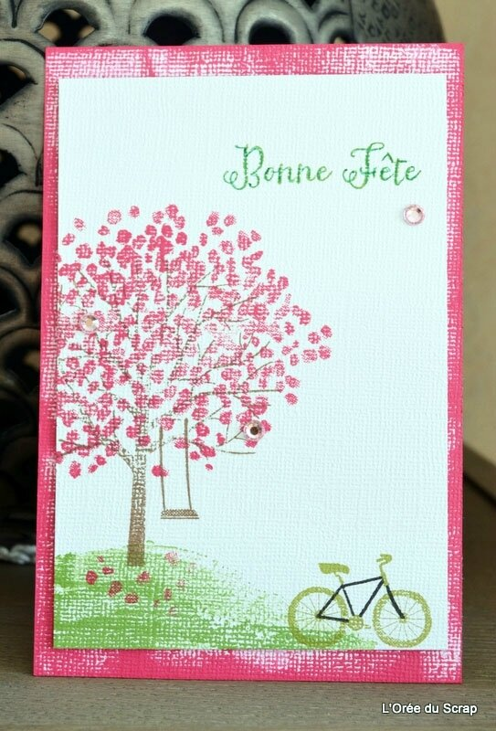 stampin up bonne fete blogorel loreeduscrap