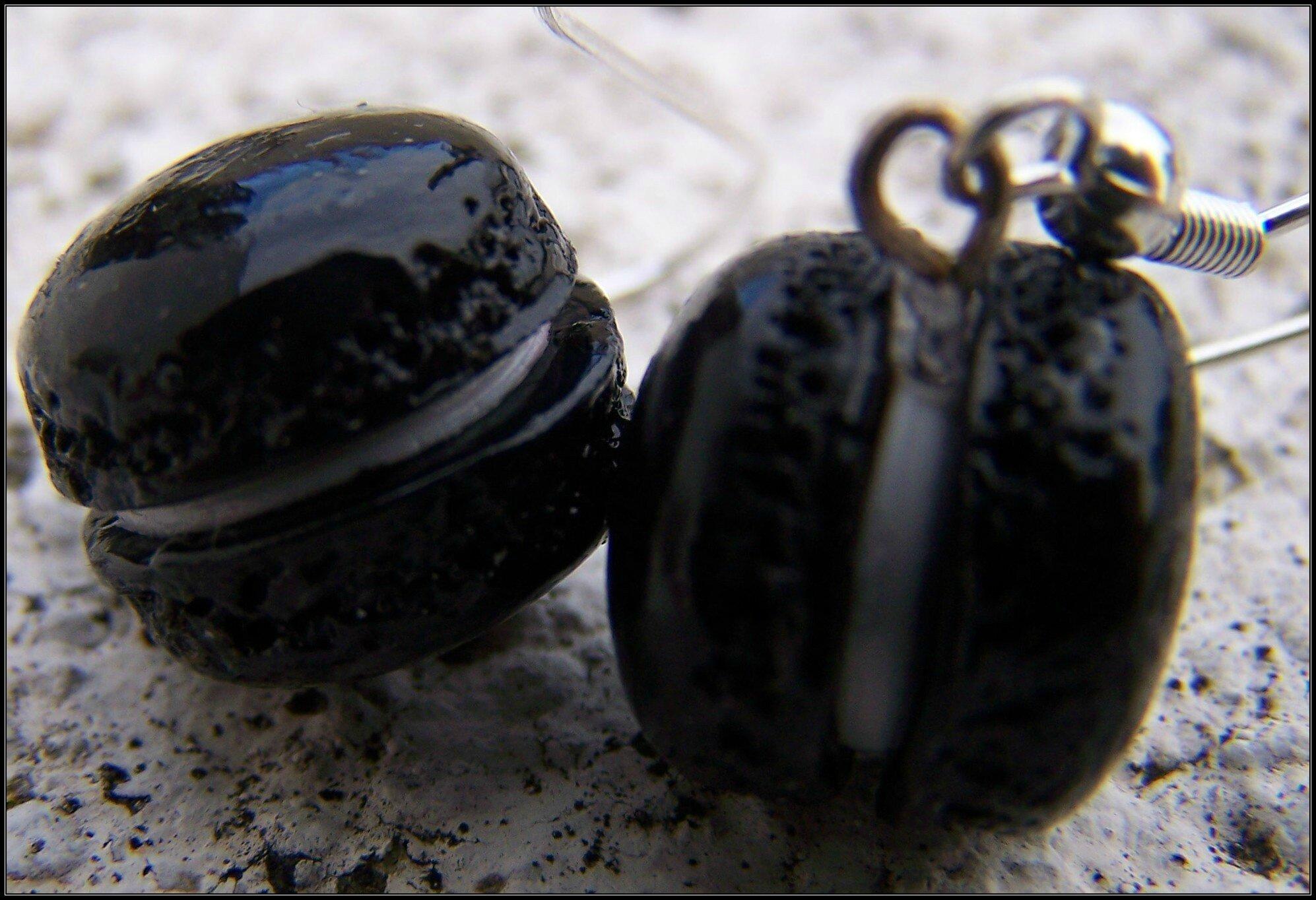 macaron noir