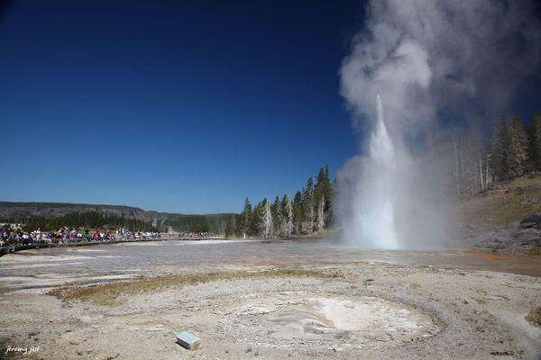 Grand Geyser Yellowstone NP