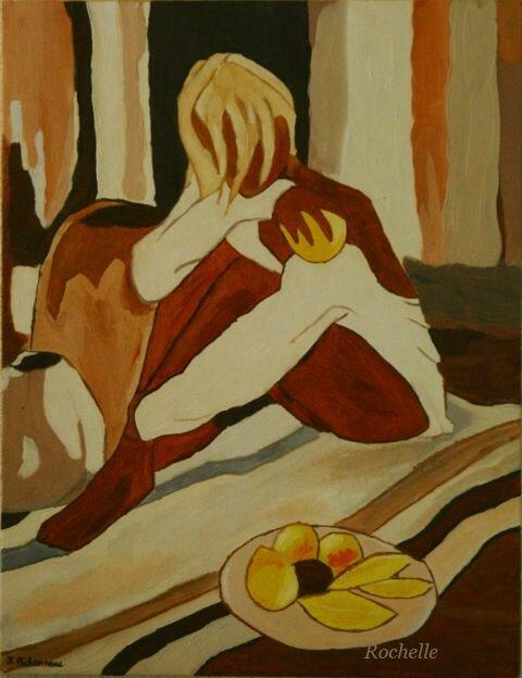 Femme Aux Pomelos