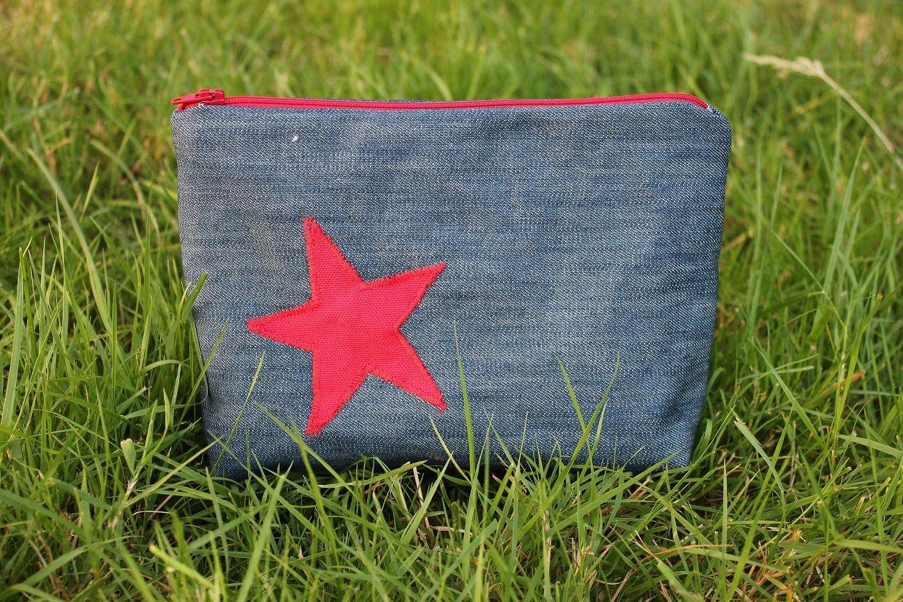 Trousse jean étoile