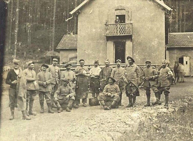 chasseurs alpuns maison forestière