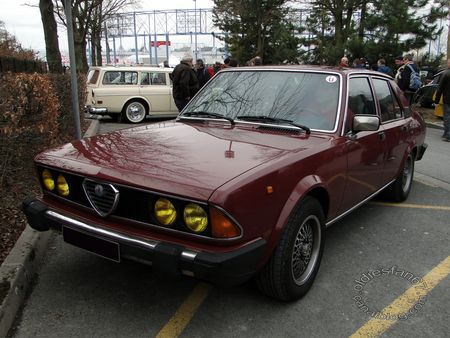 alfa romeo alfa 6 2,5 automatic 1979 salon champenois vehicule collection reims 2012 1