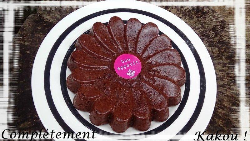 Gâteau mousse au chocolat7